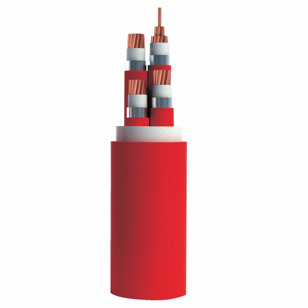 柔性隔离型铝护套矿物绝缘电缆 NG-A(BTLY)