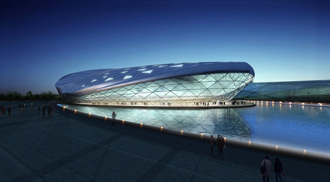福州海峡奥体中心体育馆